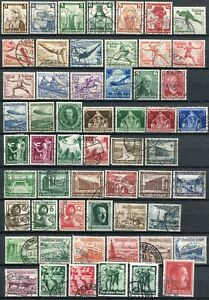(897) 56 VERY GOOD USED GERMANY 1935 - 1938 ISSUES