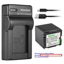 Kastar Battery Slim Charger for Panasonic CGA-DU21 CGR-DU21 & NV-GS230 NV-GS250