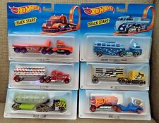 HOT WHEELS TRACK STARS SET OF 6 CUSTOM VOLKSWAGEN HITCH N HAUL FUEL & FIRE +
