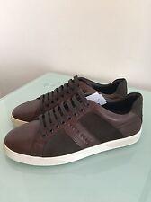 HUGO BOSS Gr: 39 UVP: 199,95 € Sneaker Braun Schuhe Free Original NEU