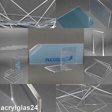 ACRYLGLAS PLEXIGLAS ® 125€/m²  GLASKLAR ZUSCHNITT DIREKT VOM FACHHÄNDLER **TOP**