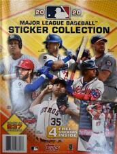 2020 Topps MLB Baseball Sticker Collection Book - 4 FREE Stickers!