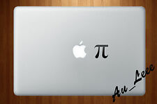 Macbook Air Pro Vinyl Skin Sticker Decal Funny Apple Pie Joke Maths Pi M083