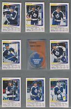 1991-92 Panini Stickers Toronto Maple Leafs Complete Team Set (15)
