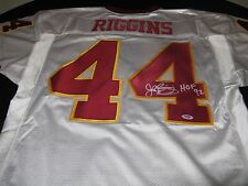 John Riggins Washington Redskins Signed Starter Jersey PSA