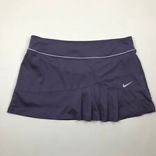 Nike Dri Fit Women Canyon Purple Pleated Athletic Skort sz XL