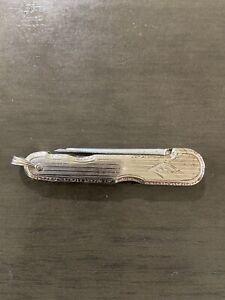 14k Solid Yellow Gold Vintage Gentlemen's Pocket Knife No Reserve!