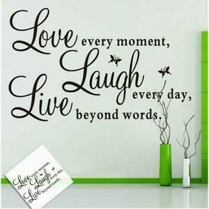 Trendy Charming Design Removable Wall Decal Art Word Wall Sticker Paper Shan