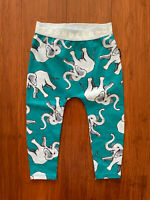 Bonds Baby Elephant Teal Stretchies Leggings Size 1 BNWT