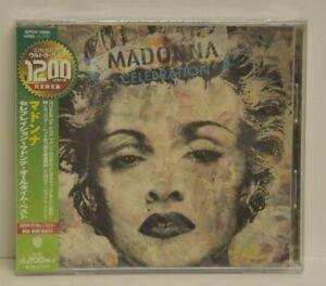 MADONNA - CELEBRATION - JAPAN  CD - SEALED