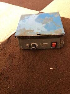 Dental Lab Wax Heater Pot 3 Well Analog Wax Melting Dipping Pot JT-15