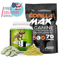 Bully Max The Ultimate Canine Dog Supplements Vet-Approved for All Breeds & Ages