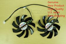 85mm Grafikkarte Dual-X Fan fd7010h12s für Sapphire Radeon hd7850 7870 7950 39mm