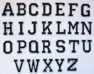 Patches Alphabet Weiche Beflockung B/ügeleisen zum Aufb/ügeln 0,75 Zoll hoch Schwarze Beflockung Buchstaben W/ärme/übertragung Buchstaben f/ür T-Shirt Kleidertaschen Decoration 12 St/ück
