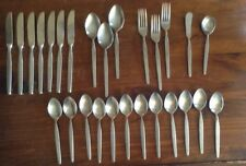 Orleans Silver stainless flatware ORL 69 mixed lot of 27 pieces