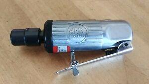 """MAC Tools 1/4"""" Capacity 4"""" Long Straight Mini Die Grinder AG14 Mint"""