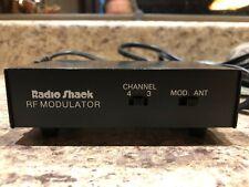 Radio Shack TV Video-Computer RF Modulator VHF Converter 15-1283A