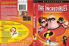 The Incredibles (2 Dvd Set, Disney) Wide 00004000 screen Free Ship #0520Jp