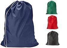Heavy Duty Extra Large Nylon Laundry Bag Locking Drawstring Closure 30x40