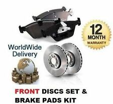 FOR VW TIGUAN ALL MODELS  2008-> NEW FRONT BRAKE DISCS SET AND DISC PADS KIT