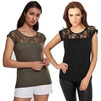 Urban Classics - Ladies Top Laces Tee TB714 Damen Shirt