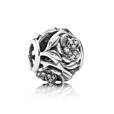 MYSTIC FLOWER .925 Sterling Silver European Charm Bead FL4