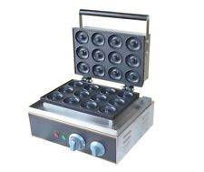 220V Commercial 12 Grids Donut Maker Electric Mini Round Donut Machine FYX-12A H