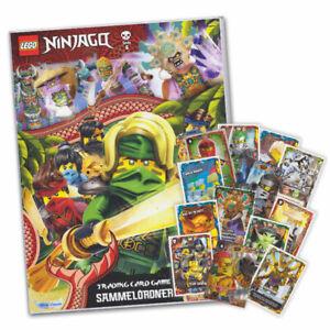 LEGO Ninjago TCG Serie 6 - Die Insel Sammelalbum +25 verschiedene Karten Starter