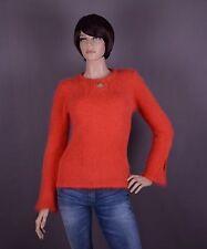 Angora Damen Pullover, Farbe: orange und Größe: S oder M (nach Wahl)