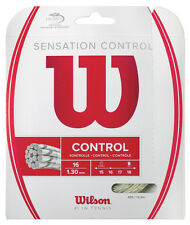 Wilson Sensation Control 1.30mm 16 Tennis Strings Set