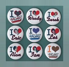 I Love Bay City Rollers 56mm Button Badges 9 to choose from FREEPOST BCR