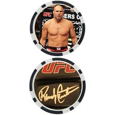 Randy Couture - POKER CHIP - GOLF BALL MARKER ***SIGNED***