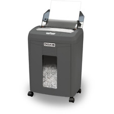 Heavy Duty Paper Shredder 90 Sheet Auto Feed Small Shred Reduces Paper Volume