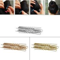 20PCS U Shaped Hairpin Hair Clips Bobby Pins Metal Barrette Women Dish Tools New