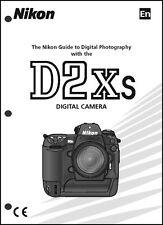 Nikon D2XS User Manual Guide Instruction Operator Manual