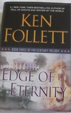 Edge of Eternity by Ken Follett, First Edition hc/dj 2014 Century Trilogy #3