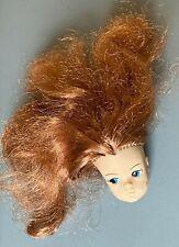 VINTAGE 1970'S SINDY DOLL AUBURN HAIR - HEAD ONLY