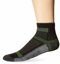 Wigwam Men's Cool-Lite Ultimax Ultra-Lightweight Quarter Sock, Black, Medium