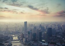 A1 | Art Poster Of Shanghai China City Skyline 60 x 90cm 180gsm Art Gift #13024