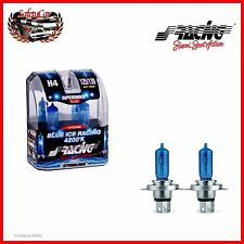 PAR DE LÁMPARAS BOMBILLAS SIMONI RACING H4 4200K AZUL HIELO RACING SUPERSHOK