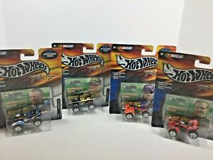 Hot Wheels Recreational Series ATV NEW Lot of 4 Martin Kenseth Labonte Busch
