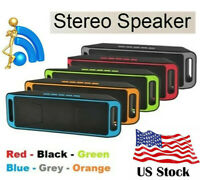Super Bass Portable Bluetooth Speaker Wireless Subwoofer Mini Speaker USB/TF/AUX