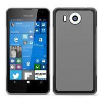 Dünn Slim Cover Microsoft Lumia 950 XL Handy Hülle Silikon Case Schutz Tasche