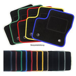 Auto-Fußmatten Kettelung farbig für Ford Street Ka 2003 - 2005 Autoteppiche