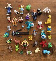 75 Vintage Ferrero Kinder Surprise Egg Toy Figures Figurines Unassembled Random