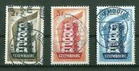 Luxemburg 555 - 557 sauber gestempelt CEPT Europa used 80,00 €
