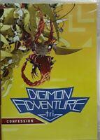 DIGIMON ADVENTURE - TRI: CONFESSION (DVD) NEW FACTORY SEALED w/ Slipcover!