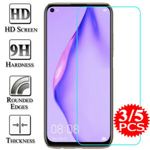 For Huawei P40 P30 Lite P20 Pro Mate 20 Honor 10 Tempered Glass Screen Protector