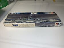 Vintage 1/700 Water Line Series British Battlecruiser Hood. Made in Japan