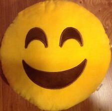 cuscino  peluche grande cm 32 di diametro Smiley smile Emoticon sorriso